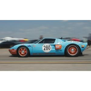 """Опять Ford  всех """"уделал"""" или как Ford GT 40 установил новый мировой рекорд скорости - 472,5 км/ч"""